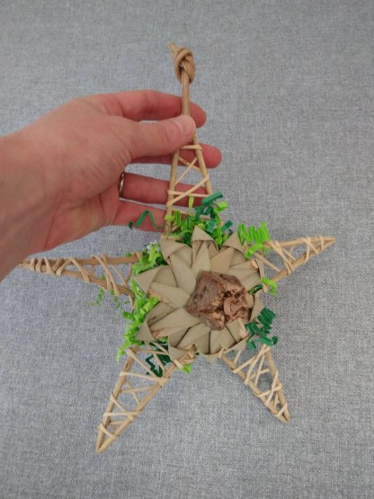 large star bird toy