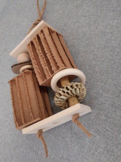 natural toys for birds