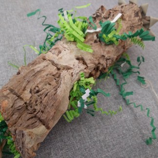 natural cork tunnel toy