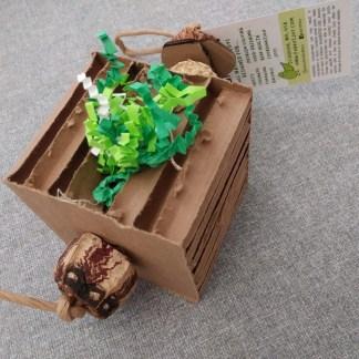 block party cardboard bird toy