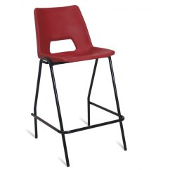 Padded High Chair Office India Polypropylene With Optional Seat Back Seating Parrs