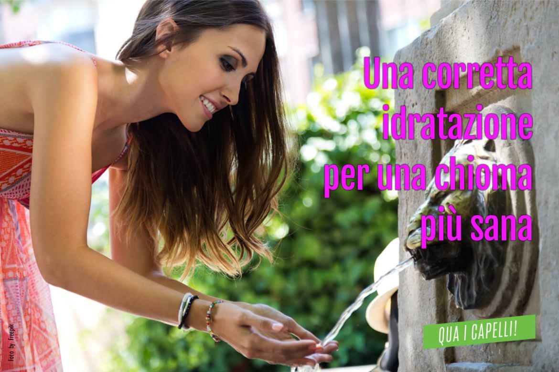 Una corretta idratazione per una chioma più sana