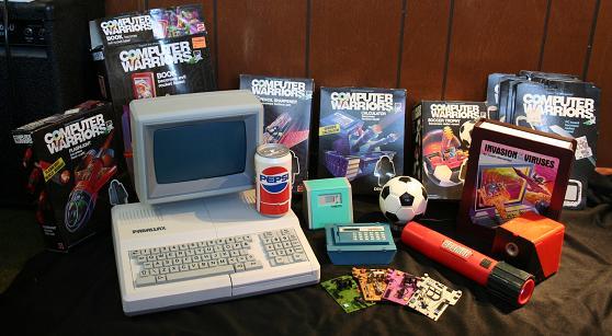 Computer Warriors  Parry Game Preserve