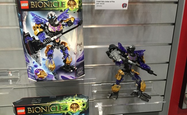 Toy Fair 2016 Coverage Lego Bionicle Parry Game Preserve