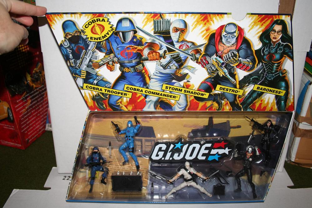 GI Joe 25th Anniversary Cobra 5 Pack Number 1 Parry Game Preserve
