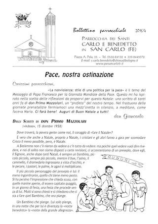 Bollettino Parrocchiale 2016/4
