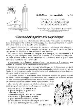 Bollettino Parrocchiale 2019/1
