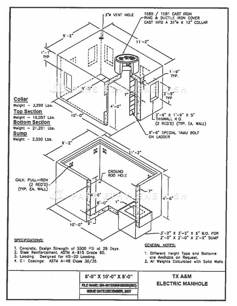 Electrical Manhole