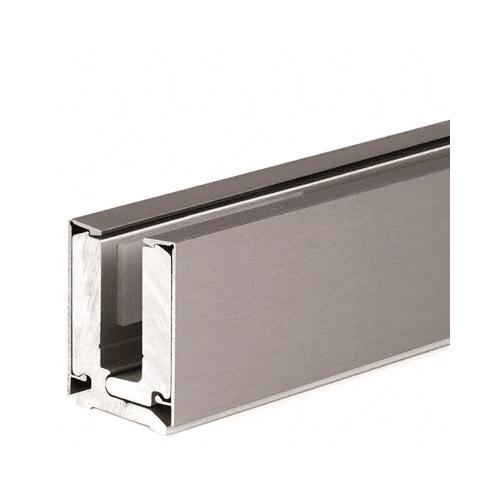 4 Metre Clamping Profile 12mm Brushed Nickel