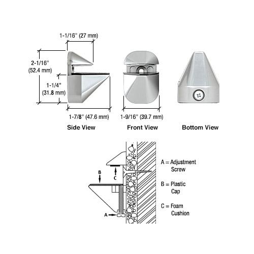 Adjustable shelf brackets (cliffhanger)