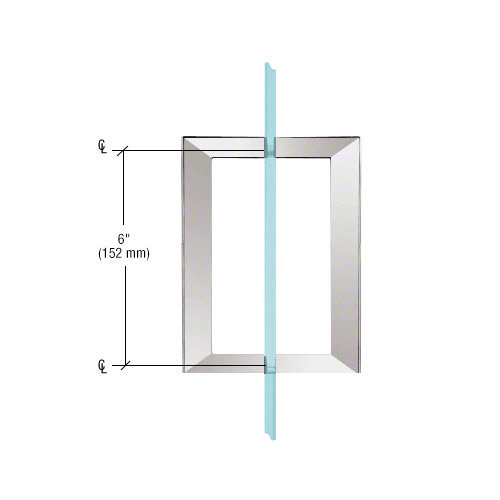 SQ Series Square Tubing Back-to-Back Pull Handle