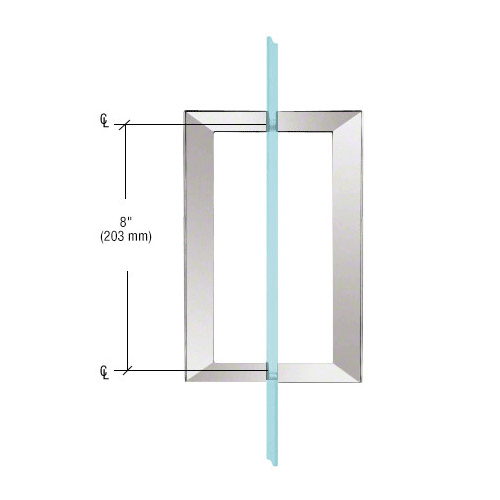SQ Series Square Tubing Back-to-Back Pull Handles