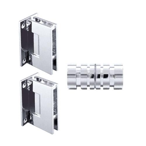 shower knob and hinge set