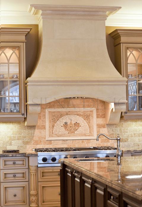 kitchen fan large island with seating custom hoods toronto | designer decorative stone ...