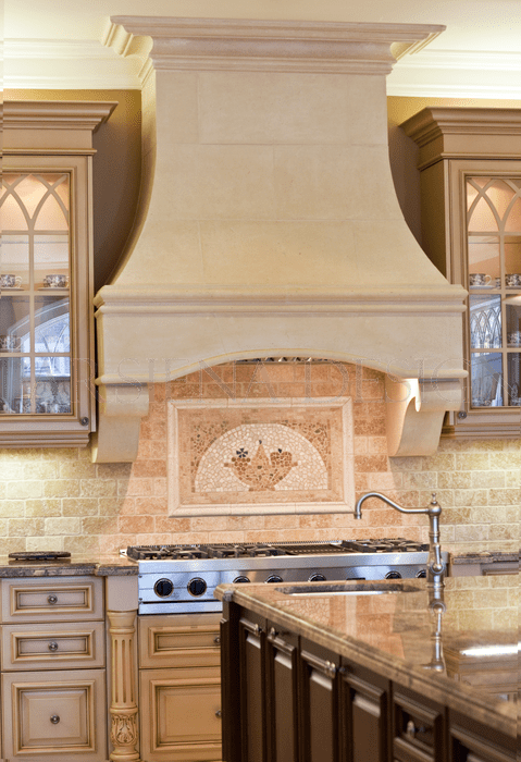 Custom Kitchen Hoods Toronto Designer Decorative Stone Kitchen Hoods In Toronto Gta Range