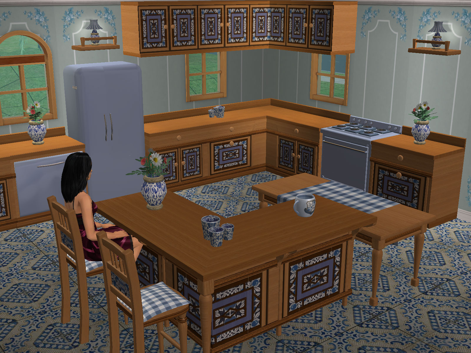 Sues Secret Kitchen Sims 2 The Kitchen