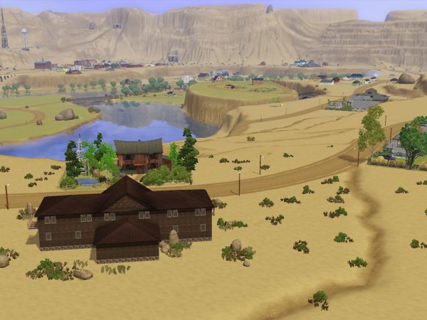 Sims 3 Empty Worlds - Year of Clean Water