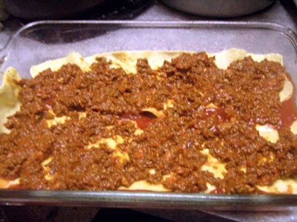 Lasagna Bolognese - everything from scratch..like a Nonna would make it.