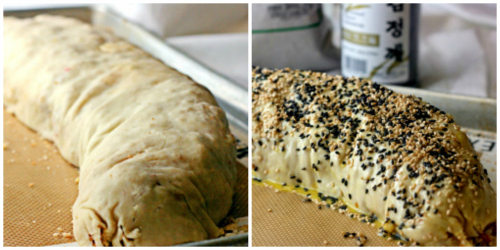 Two takes on homemade strudel! BBQ pork strudel and Pineapple Cheese strudel!