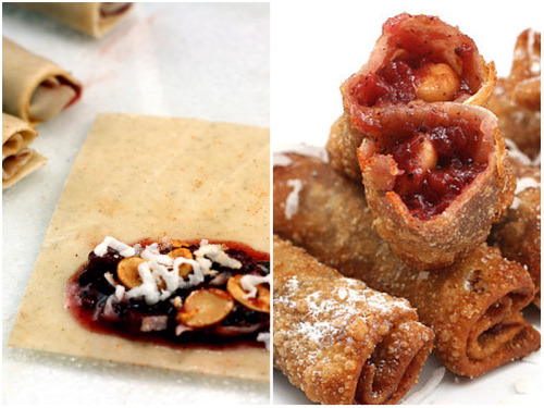 Deep Fried Plum Chutney - Coconut - Peanut Wontons and Pho Ga