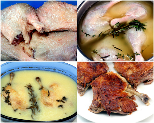 How to make the best Cassoulet and Duck or Chicken Confit.