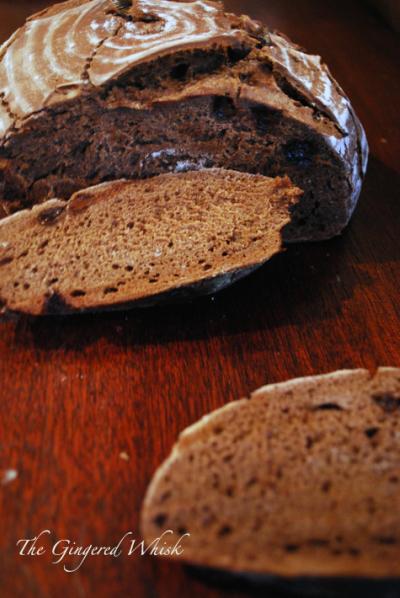 Pane al Cioccolate - Italian Chocolate Bread for Bread Baking Day #47 Bread with Chocolate!