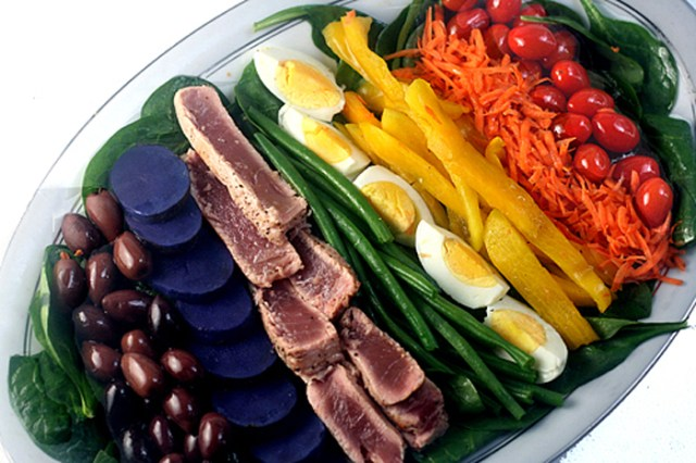 Nicoise Salad aka Salade Nicoise with fresh seared tuna and the best vinaigrette you will ever have!