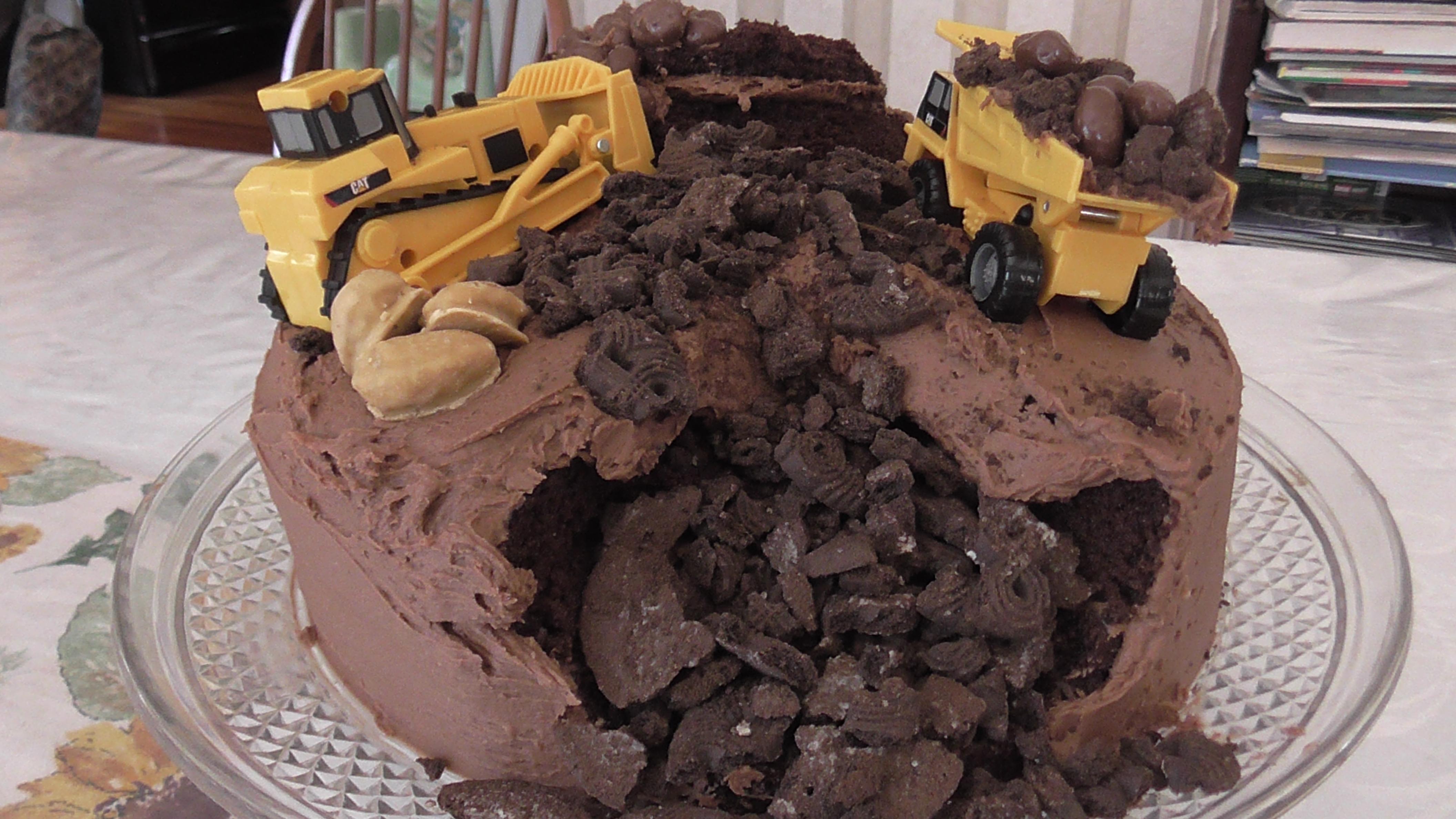 Moist And Rich Buttermilk Dark Chocolate Cake Recipe