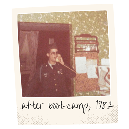 after boot-camp, 1982