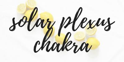 food and chakra pairing