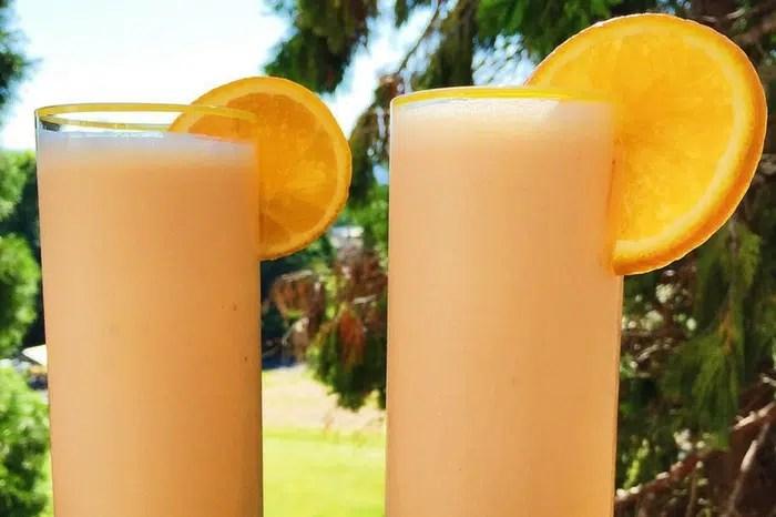 Tangerine Creamsicle Vitamin C Smoothie