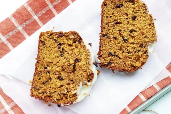 cocao nib pumpkin bread