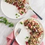 lentil and barley salad