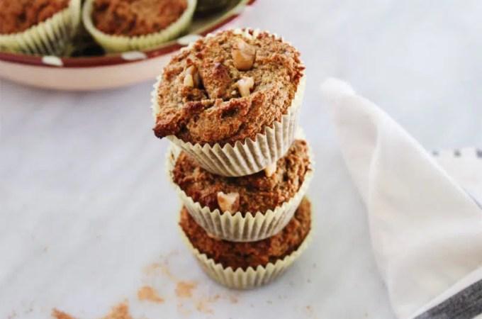 Gluten-Free Banana Nut Muffins with Date Sugar