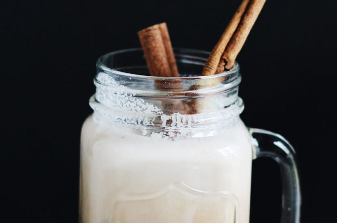 Iced Cinnamon Coconut Milk Vietnamese Coffee