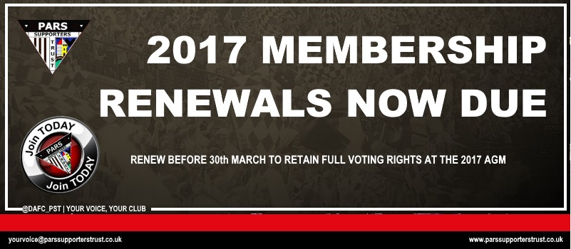 Now there are even more reasons to renew your membership of the PST in 2017