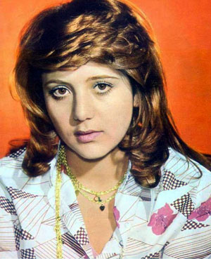 Actress/Singer Nooshafarin