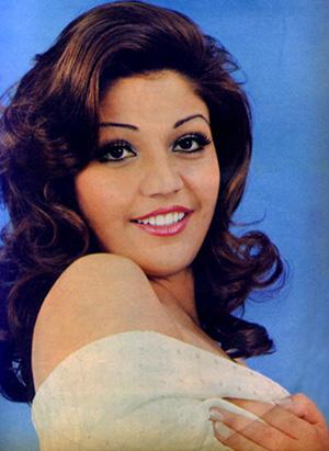 Actress Haleh