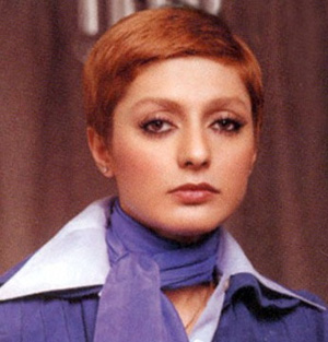 Googoosh with short hair - early 70s