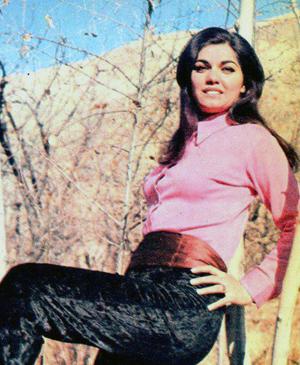 Actress Niloofar