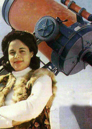 Astronomer Dr. Shahla Solhju - 1960s