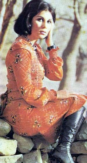 Actress Fariba Khatami