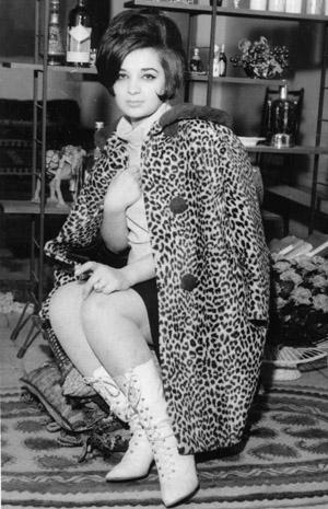 Singer Beheshteh - late 1960s
