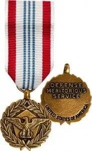 defense meritorious service medal