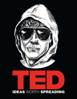 T‑shirt TED — Ideas Worth Spreading