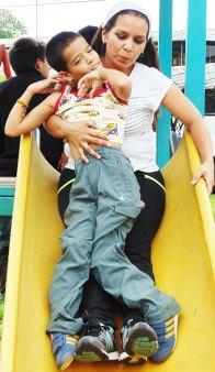 Un enfant en Equateur