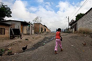 honduras quartier de Tegucigalpa