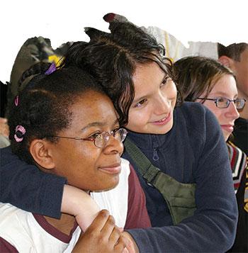 Jeunes filles chez Génération Médiateurs