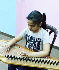 Jeune bénéficiaire en Palestine