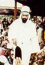 Maitreya, tel qu'il est apparu à Nairobi en 1988